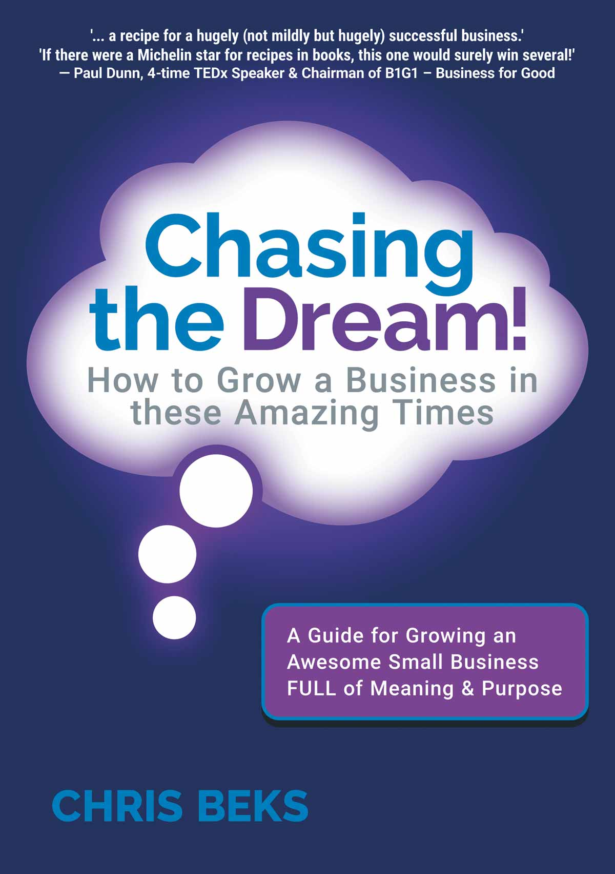 Chasing the Dream Book