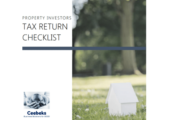 Ceebeks Business Solutions for GOOD - Property Investors Tax Return Checklist
