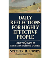 Daily Reflections for Highly Effective People - Stephen R. Covey