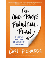 The One-Page Financial Plan- Carl Richards